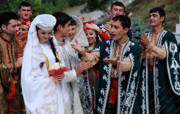Армянская национальная свадьба
