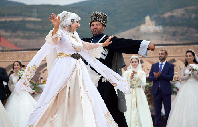 Дагестанская национальная свадьба