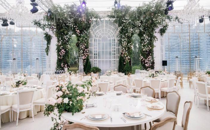 Оформление свадьбы декор