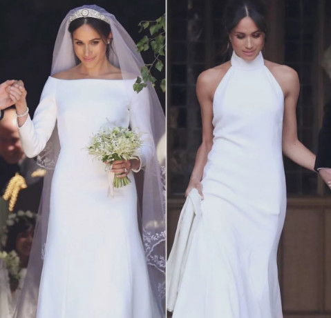 Платье в стиле Меган Маркл