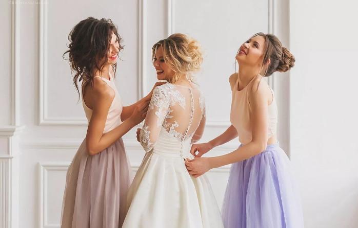 Сбор невесты фото
