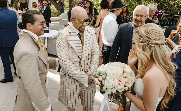 Свадьба в стиле Бохо фуршет