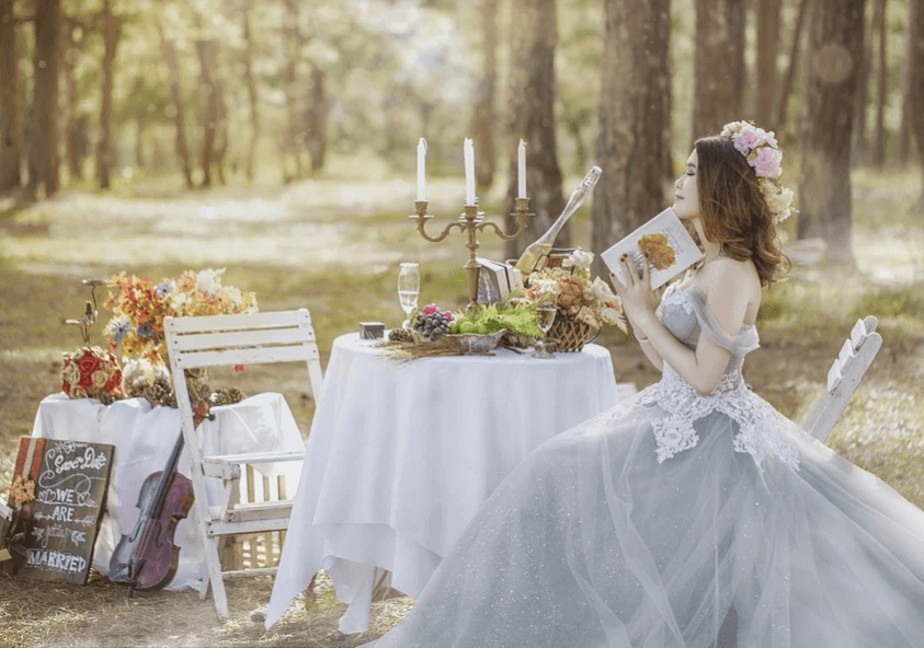 Свадьба в стиле сказка