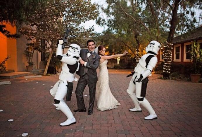 Свадьба звездные войны фото