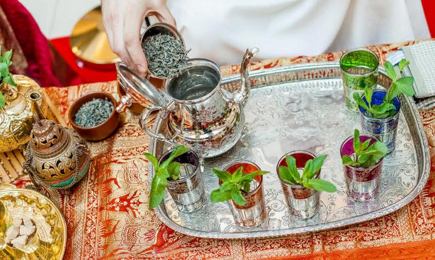 Свадебная чайная церемония