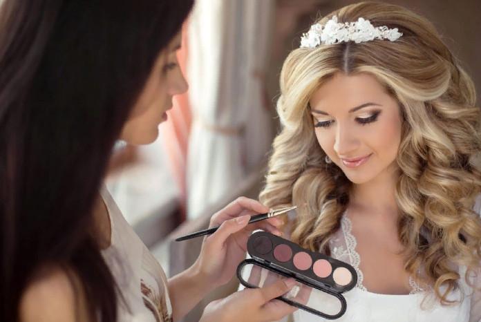 Свадебный макияж стилист