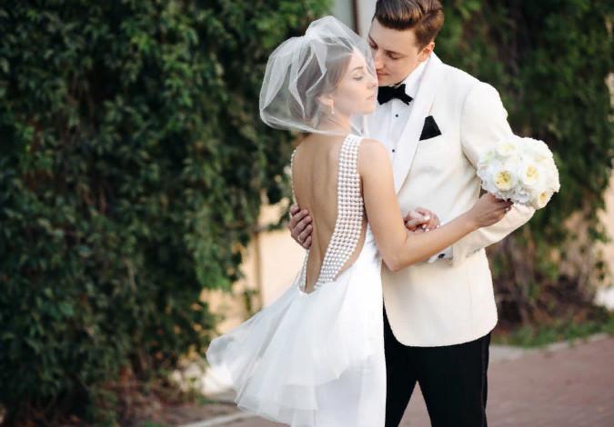 Свадебный образ жениха и невесты
