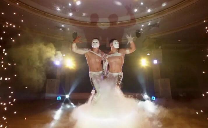 шоу акробаты на свадьбу