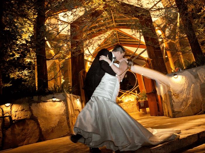 Свадьба в загородном коттедже