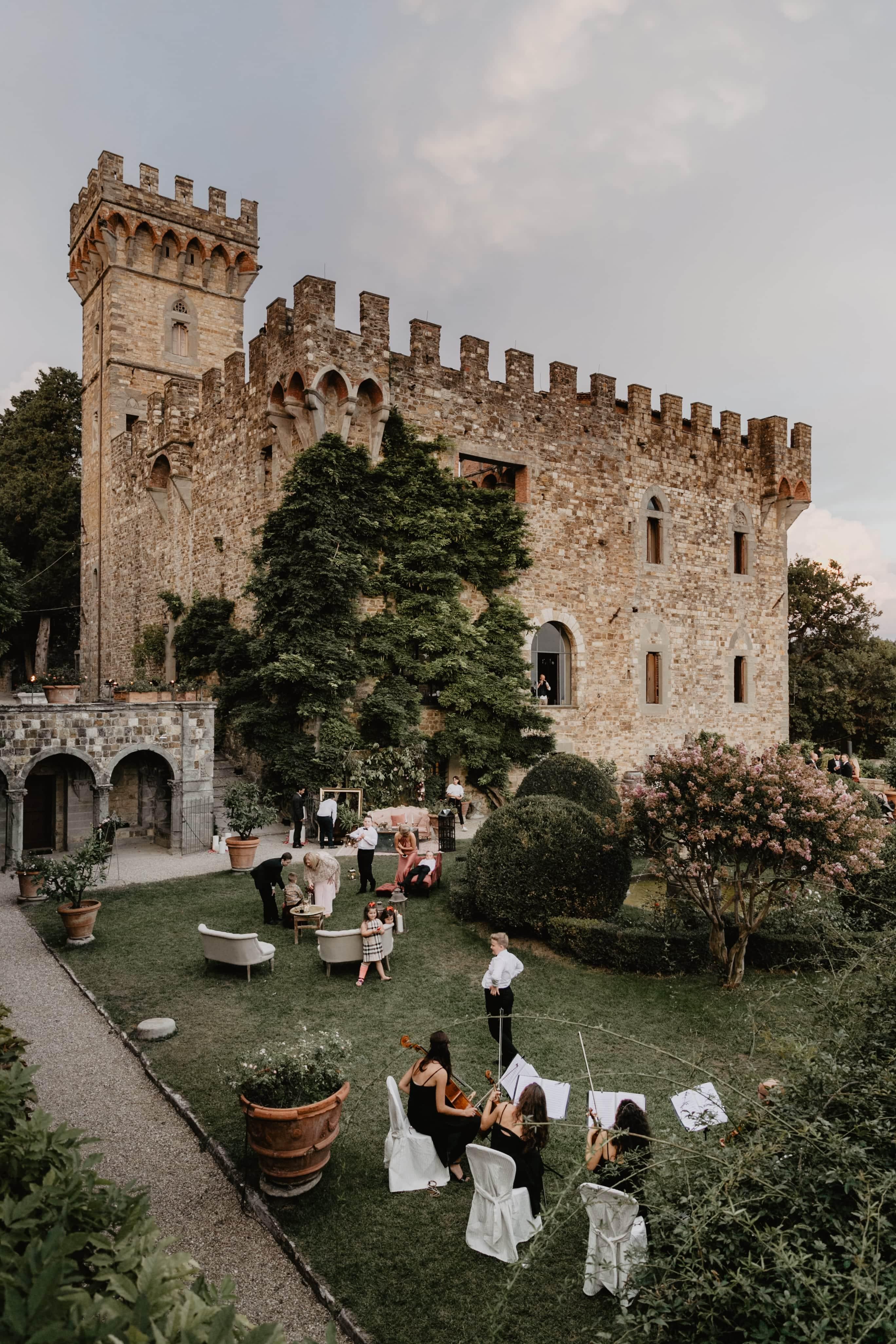 zamok Castello di Vincigliata
